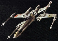 T,65 X,wing starfighter